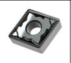 ANC - CNMG-432-SG AN23 Uncoated Carb Insert For Alum at High Feeds USA Mfg CNMG432SGAN23 10 Ea