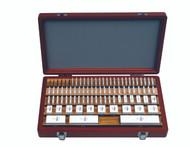 Mitutoyo -81 PC inch Square AS-1 Ceramic Gage Block Set w Certificate 516-203-26 **Free Shipping**