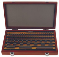 Mitutoyo -81 PC Inch Rectangular AS-1 Gage Block Set w Certificate - 516-903-26 **Free Shipping**