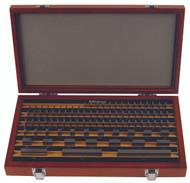 Mitutoyo -35 PC Inch Rectangular AS-0 Gage Block Set w Certificate 516-914-26