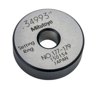 """Mitutoyo - ACCESSORY: Setting Ring .35"""" 177-179"""