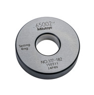 """Mitutoyo - ACCESSORY: Setting Ring .65"""" 177-182"""