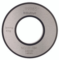 """Mitutoyo - ACCESSORY: Setting Ring 1.0"""" 177-184"""