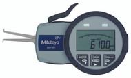 """Mitutoyo - Digimatic Caliper Gage 5.0-15.0 MM/.20-.59"""" SPC  w Certification Certificate 209-551"""