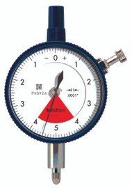 "Mitutoyo - 0001-.008"" Dial Indicators w Flat Back 2910SB-72"