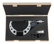 "Mitutoyo - 5"" Digimatic Micrometer .0001""/0.001mm SPC RA IP65  293-350-30**Free Shipping**"