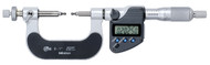 """Mitutoyo - 1"""" Digimatic Micrometer Gear .001mm, IP65 SPC  324-351-30  Free Shipping"""