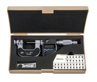 "Mitutoyo - 3-4""  75-100 mm Digimatic Screw Thread Micrometers IP65 SPC 326-354-30  Free Shipping"