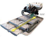 """Pearl - 10"""" Tile Saw Pro with Heavy Duty 2 HP Induction Motor VX10.2XLPRO"""