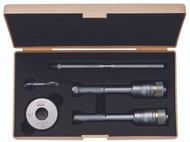 """Mitutoyo - .5 - .8"""" Holtest 5 PC Internal Micrometer Set w Tin coated Carb. Cont. Pts. 368-917 Free Shipping"""