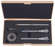 """Mitutoyo - .5 - .8"""" Holtest (Type II) 6 PC Internal Micrometer Set 368-995"""