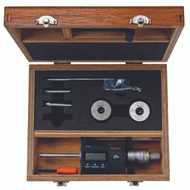 """Mitutoyo - .275-.500"""" Digimatic Holtest Three-Point Internal Micrometer Set, Tin Coated Contacts SPC w Certification  468-976"""