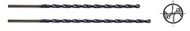 YG1 - DH520043  - 4.3 mm x 104 mm loc x 157 mm oal Carb Coolant Fed Drill MQL TiAlN (20XD)