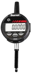 "Starrett - Electronic Indicator 1""/25mm Range .0005""/0.01mm Res IP67 SPC Output - 2900-3-1  09963 USA Mfg"