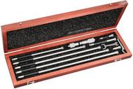 "Starrett - 823DZ  / Inide Micrometer Set / 4"" - 32"" Range / 53055"