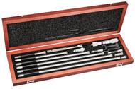 """Starrett - 823FZ  / Inide Micrometer Set / 1-1/2"""" - 32"""" Range / 53058"""