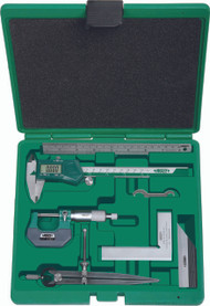 Insize - 6 pc Measuring Tool Set - 5062-E
