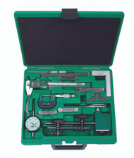 Insize - 13-Pc Measuring Tool Set - 5013-E / Free Shipping