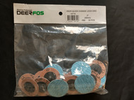 """DeerFos - 2"""" x TR 60 Grit Quick Change Disc Zirconia Alumina - 50 Ea Box"""