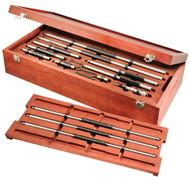 """Starrett - Inide Micrometer Set / 6"""" - 150"""" Range  128BZ / 64376 / USA Mfg"""