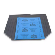 "CTS-  9"" X 11"" Premium Silicon Carbide Sanding Sheets 220 Grit USA Mfg - 50 Pack"