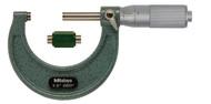 """Mitutoyo - 2"""" Micrometer .0001 FR Hammertone Baked Enamel 103-136"""