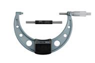 Mitutoyo - Micrometer 125mm -150mm .01 RA Hammertone Baked Enamel w Certificate 103-142-10