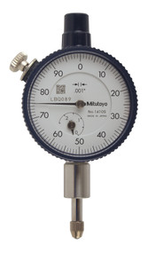 Mitutoyo - Dial Indicator Series 1-Compact Type-Small Diameter 1410S **FREE SHIPPING**