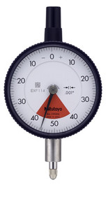 """Mitutoyo - Dial Indicator 0005-.02"""" Series 2-Standard One Revolution Type for Error-free Reading 2976TB"""