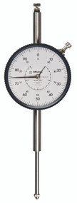 Mitutoyo - Dial Indicator w Lug Series 3-Large Dial Face 3428S-19