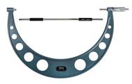 """Mitutoyo - 16"""" Micrometer .001 RA Hammertone Baked Enamel w Certificate 103-192"""