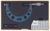 """Mitutoyo - 4-5"""" Screw Thread Micrometer .001 Hammertone Baked Enamel 126-141"""
