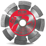 "Pearl - P2 PRO-V - 4-1/2"" x .250 x 7/8, 5/8 Diamond Tuck Point Blade PVTAK45 **Purchase 6 = 10% Discount**"