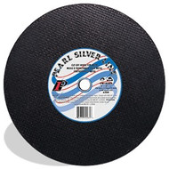 "Pearl - 14"" x 7/64 x 1 Silverline Cut Off Wheels For Chops Saws A30P CW14MAT 30 ea Box **Promo Pricing thru 12/31 + Free Shipping**"
