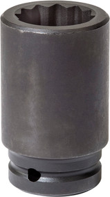 "Wright Tool - 26 mm 3/4"" Dr. Deep Impact Socket 12 PT 69H-26MM USA Mfg"