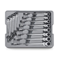 GearWrench - 12 Pc. 12 Point Metric 8mm - 19mm XL X-Beam™ Flex Comb Ratcheting Wrench Set **Free Shipping **