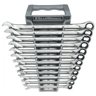 GearWrench - 12 Pc. 12 Point Metric XL Combination Ratcheting Wrench Set 8mm - 19mm  **Free Shipping**