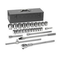 "GearWrench - 27 Pc. 3/4"" Drive 12 Point SAE Mechanics Tool Set 7/8 - 2-3/8 **Free Shipping**"