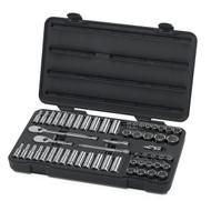 "GearWrench - 57 Pc. 3/8"" Drive 12 Point Standard & Deep SAE/Metric Mechanics Tool Set"