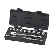 "GearWrench - 12 Pc. 3/8"" Drive 6 Point Standard SAE Mechanics Tool Set 3/8"" - 7/8"""