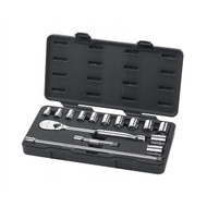 "GearWrench - 15 Pc. 1/2"" Drive 6 Point Standard SAE Mechanics Tool Set 7/16"" -1-1/8"""