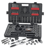 GearWrench -  114 Pc. SAE/Metric Large Ratcheting Tap and Die Drive Tool Set