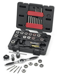 GearWrench - 40 Pc. SAE Medium Ratcheting Tap and Die Drive Tool Set