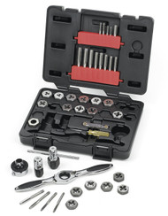 GearWrench - 40 Pc. Metric Medium Ratcheting Tap and Die Drive Tool Set