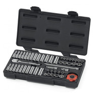 "GearWrench -  51 Pc. 1/4"" Drive 12 Point SAE/Metric Standard and Deep Mechanics Tool Set"