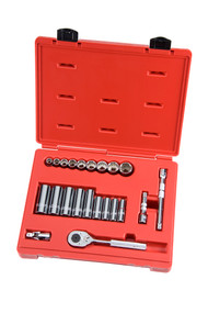 """Proto - 3/8"""" Dr 22 Piece SAE Combination Tool Sets 12 Point - USA Mfg"""