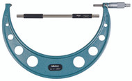 """Mitutoyo - 11"""" Micrometer .0001 RA Hammertone Baked Enamel  w Certificate - 103-225"""