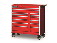 "Wright Tool - 27"" Roller Cabinet Red, Metal w/7 Drawers, Lock, Pro Series - 26-7/8"" Wide x 18-9/32"" Deep x 35-7/8"" High"
