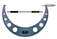 """Mitutoyo - 12"""" Micrometer .0001 RA Hammertone Baked Enamel  w Certificate 103-226"""