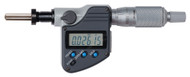 """Mitutoyo - 0 - 1""""/ 0mm - 25mm .00005"""" Digimatic Replacement Micrometer Head  w/ Clamp Nut (M12x0.50) & 5"""" Stem SPC IP65 350-382-30 **Free Shipping**"""
